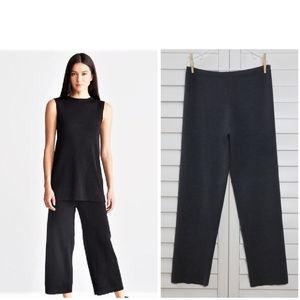 NWT Eileen Fisher 100% Merino wool pants. L